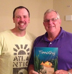 Pastor Riley and Gary Heiney, founder of Samuel's House Orphanage